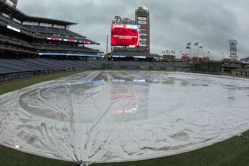 Near record amount of April showers drench US last month