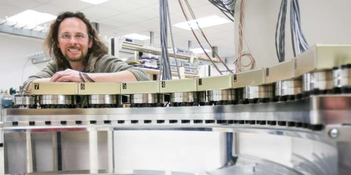 New 2-D detector promises expanded neutron scattering capabilities for WAND users