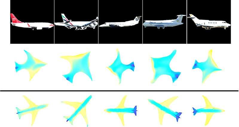 New AI technique creates 3-D shapes from 2-D images