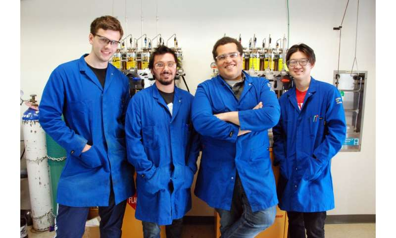 New chemical reaction developed at UCLA could eventually yield new fuels and medications