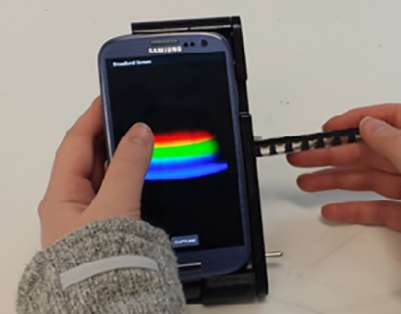 New handheld spectral analyzer uses power of smartphone to detect disease
