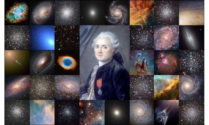 Charles Messier – Comet Ferret