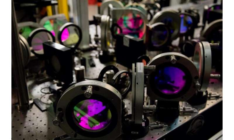 Newly upgraded laser peers further into the extreme universe at SLAC's LCLS