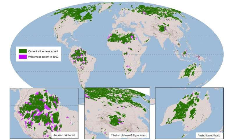 New maps show shrinking wilderness being ignored at our peril