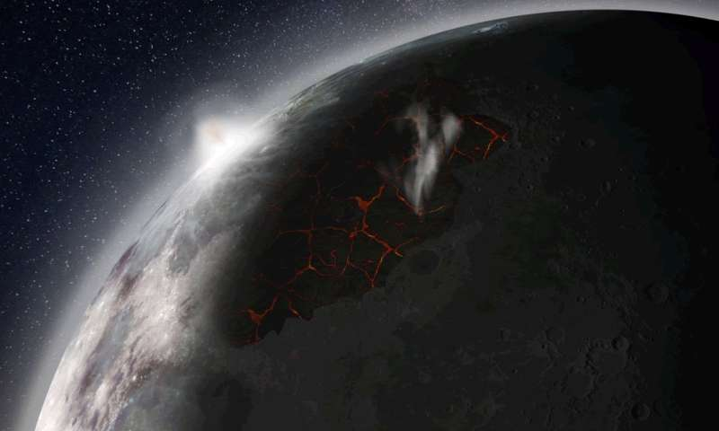 New NASA study shows moon once had an atmosphere