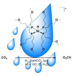 New nickel catalyst operates in water to transform greenhouse gas into chemical feedstock