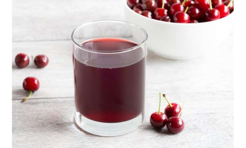 New pilot study: Montmorency tart cherry juice increased sleep time among participating adults ages 50+ by 1 hour and 24 minutes