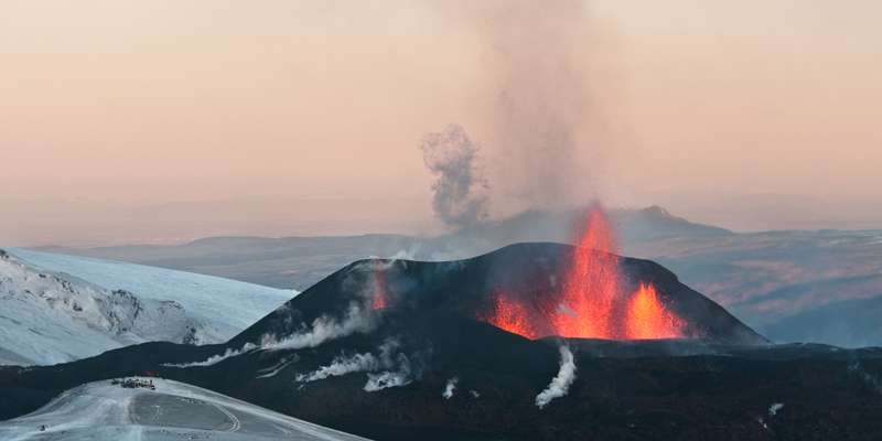 New study estimates frequency of volcanic eruptions