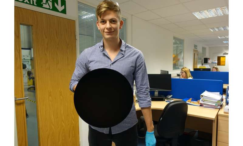 New version of Vantablack coating even blacker than original