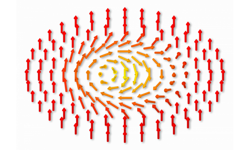 New X-ray laser technique reveals magnetic skyrmion fluctuations