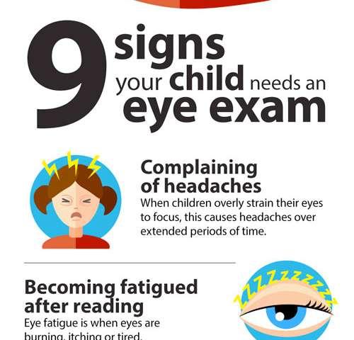 5cda2aee73e Nine signs children may need an eye exam