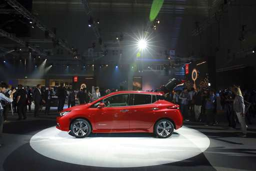 All-new Nissan Leaf revealed