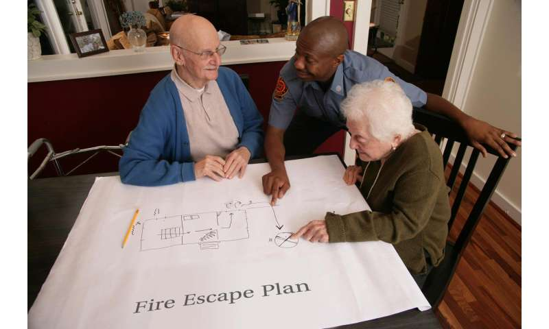NIST study suggests frailty makes elderly more likely to die in home fires