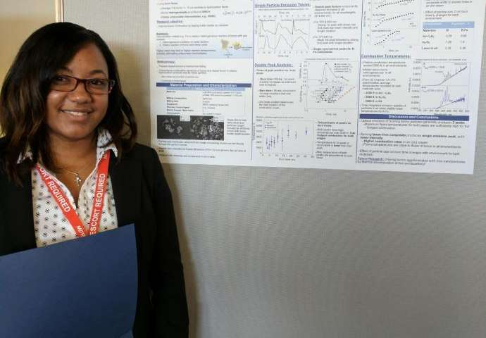 NJIT graduate student wins kudos for her research on a potent counterterrorism tool