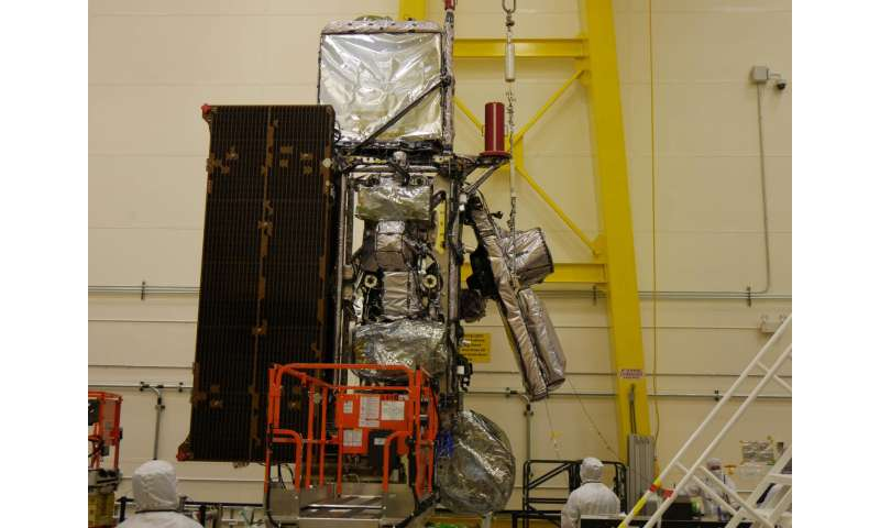 NOAA's GOES-S and GOES-T satellites coming together