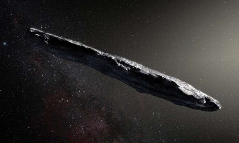No sign of alien life 'so far' on the mystery visitor from space, but we're still looking