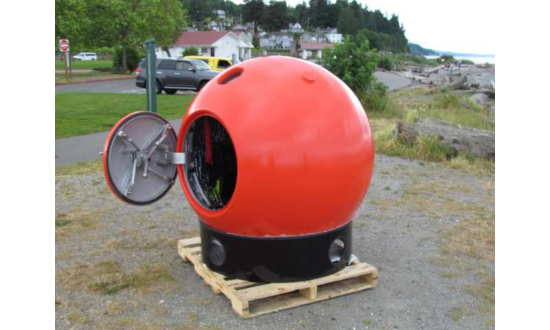 No Time To Run Tsunami Pod Aims To Save Lives At A Price