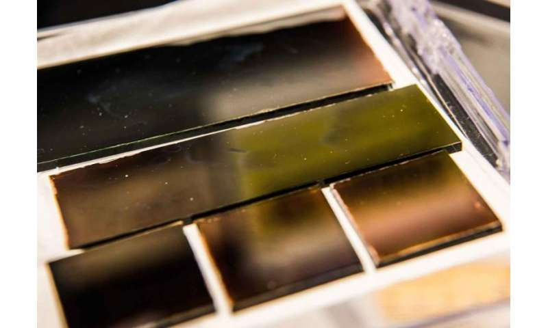 NREL's new perovskite ink opens window for quality cells
