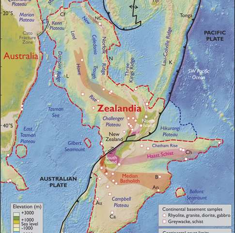 N. Zealand part of sunken 'lost continent': scientists
