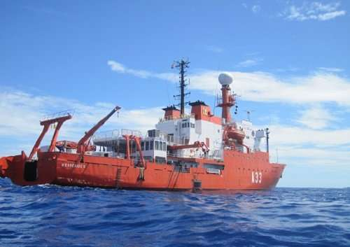 Ocean atmosphere rife with microbes