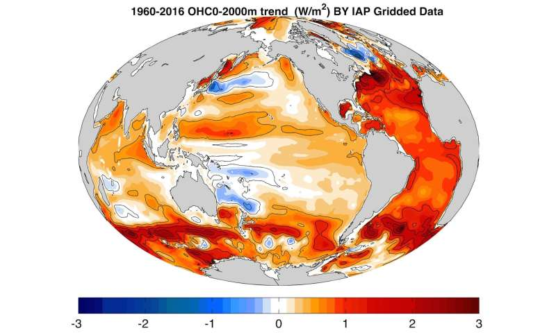 Oceans are warming rapidly, study says