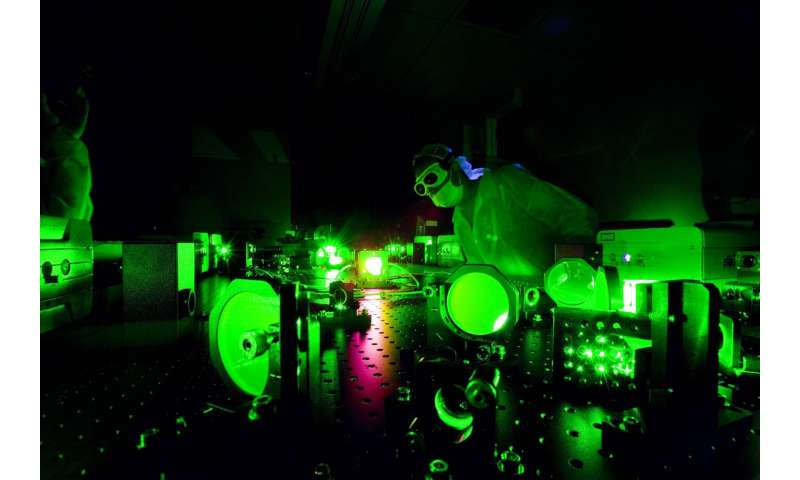 One billion suns: World's brightest laser sparks new behavior in light