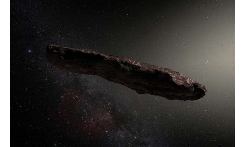 Unidentified space object not alien ship, say scientists after first scans