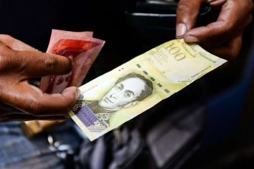 Over the past year, the Venezuelan bolivar has plummeted 95.5 percent against the dollar on the black market
