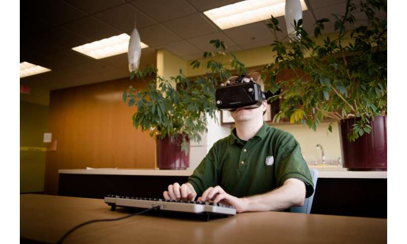 Physical keyboards make virtual reality typing easier