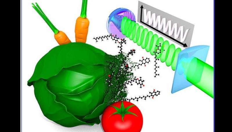 Physicists measure molecular electronic properties of vitamins