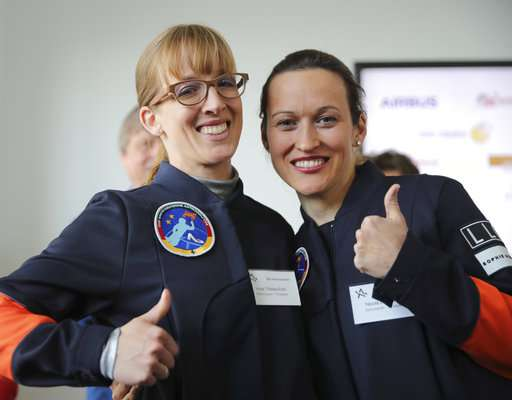 Pilot, meteorologist vying to be first German female astronaut