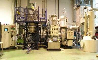 Pilot plant to obtain strategic metals through energy recovery from SUW