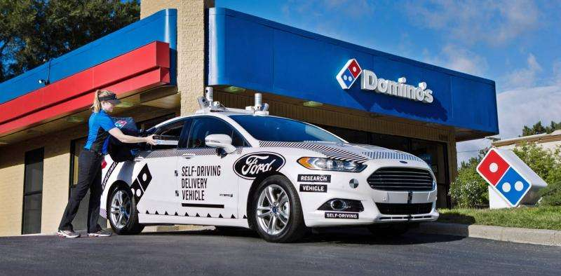 Pizza delivery by robot cars has arrived with big questions