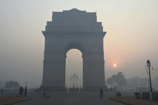 Pollution levels generally rise during the winter in Delhi and across northern India and neighbouring Pakistan, fuelled by crop