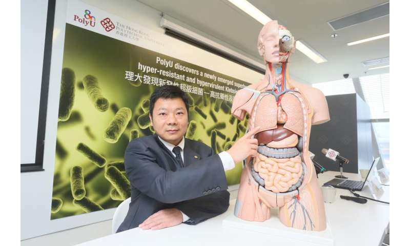 PolyU discovers a newly emerged superbug