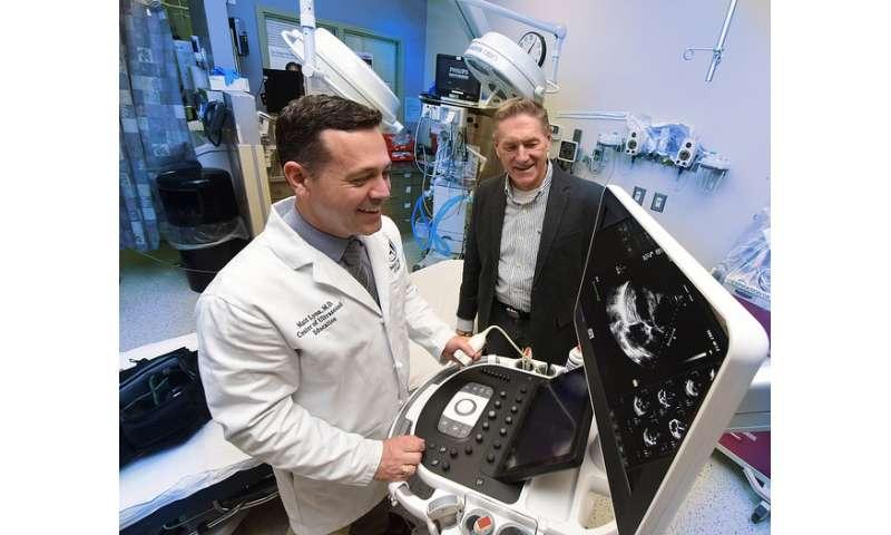 Portable 3-D ultrasound will enable fieldside, roadside screening of head injury