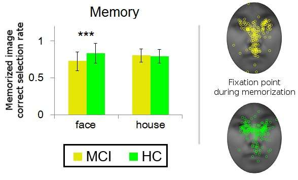 Preliminary stages of dementia reduce human face memorization ability