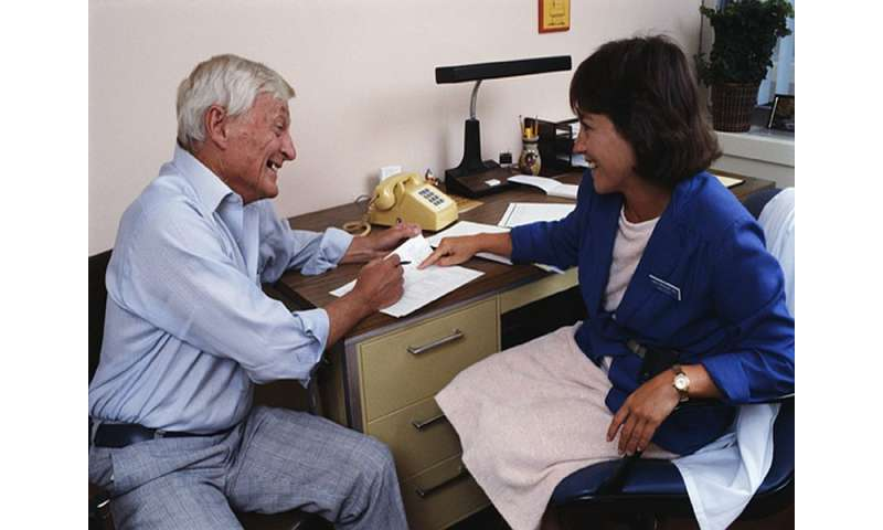 Primary care exercise counseling cost-effective for older men