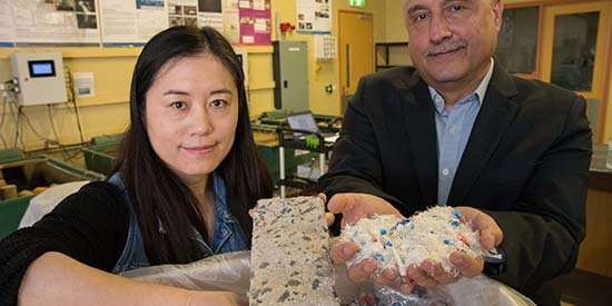 Project uses plastic dialysis waste to produce durable concrete