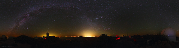Protecting dark skies for astronomy and life
