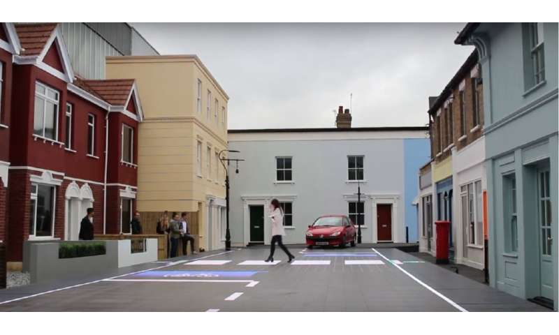Prototype offers dynamic approach to pedestrian crossing