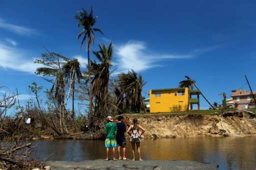 Puerto Rico remains in crisis three weeks after Hurricane Maria struck as a Category Four storm