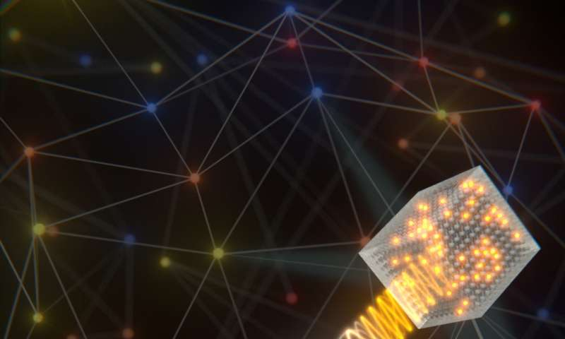 Quantum internet goes hybrid