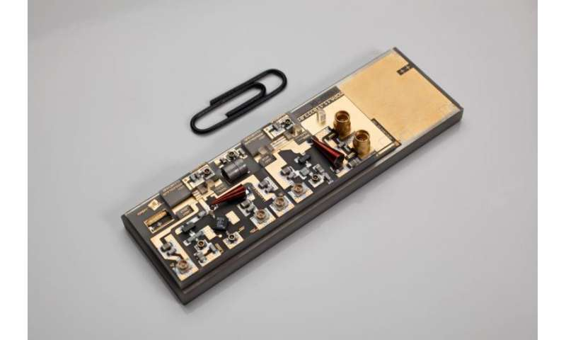 Quantum optical sensor for the first time tested in space