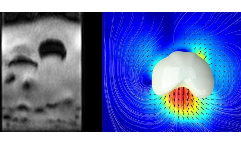 Rapid imaging of granular matter