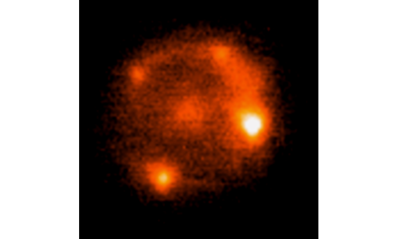 Rare brightening of a supernova's light found by Caltech's Palomar Observatory