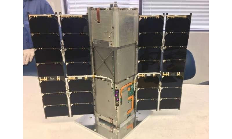 RAVAN CubeSat measures Earth's outgoing energy