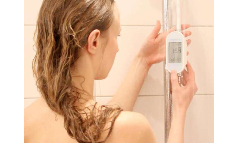 Real-time feedback helps save energy and water