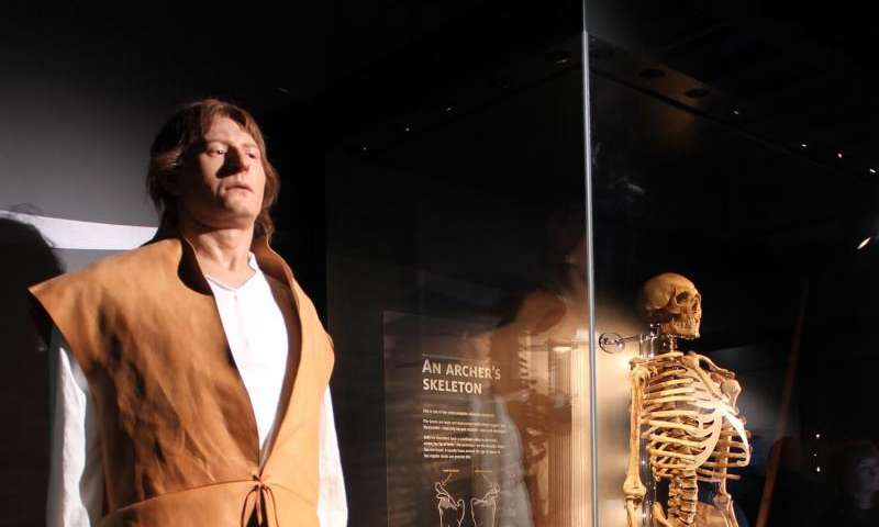 Re-constructing the crew of the Mary Rose