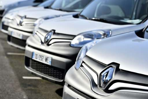 Renault shares were trading 2 percent lower at 84.75 euros around 1300 GMT Friday, having opened over one percent higher